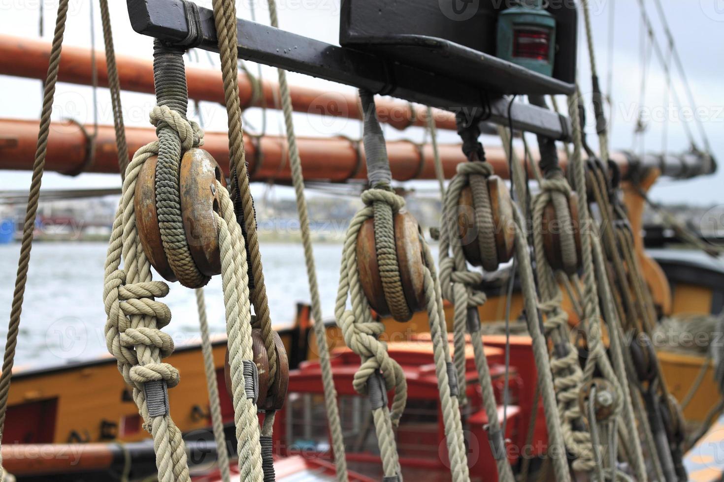 cordage voilier photo
