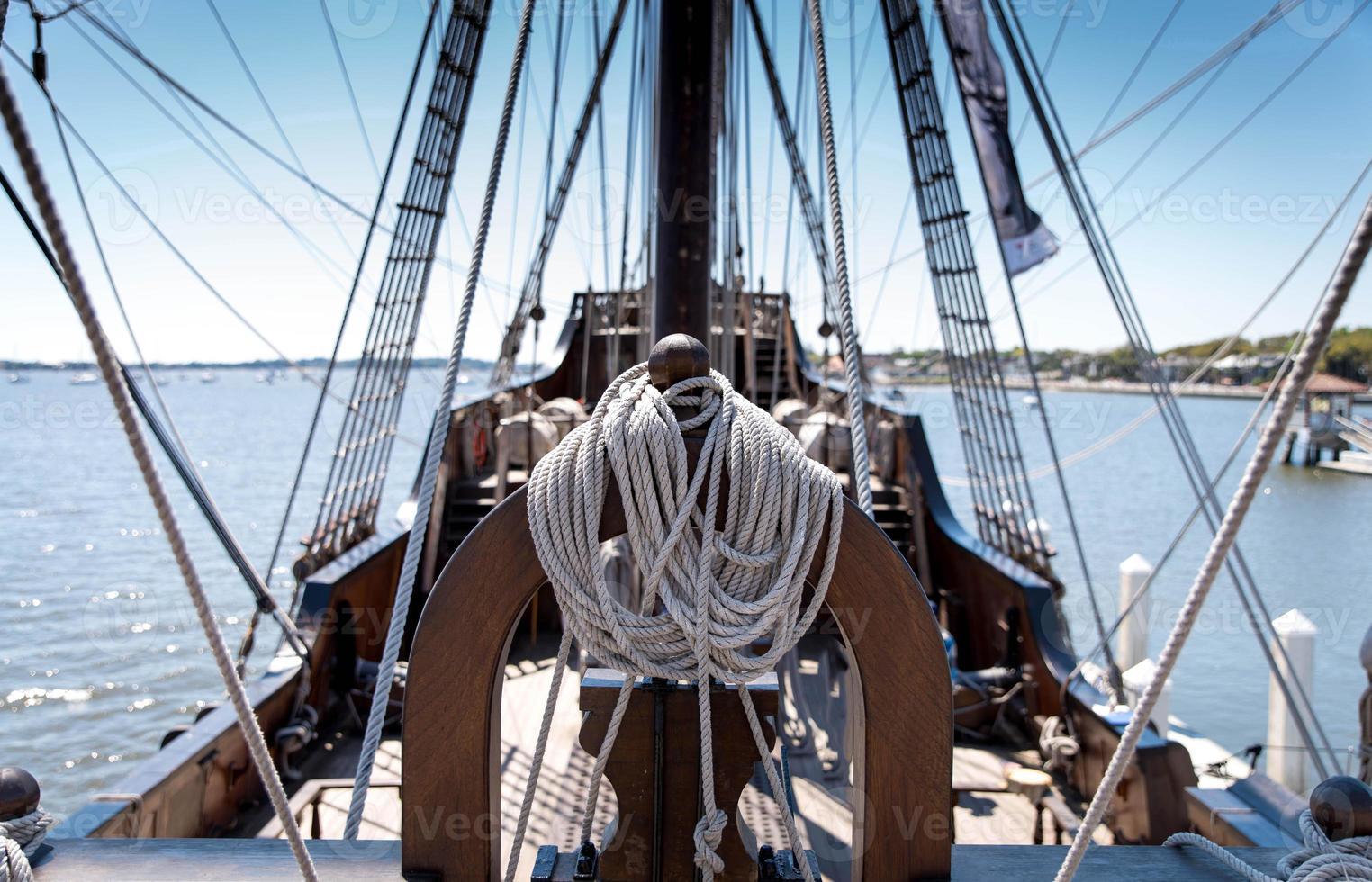 corde pour navire photo