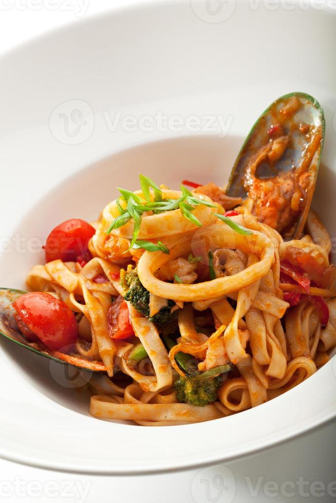 fruits de mer udon photo