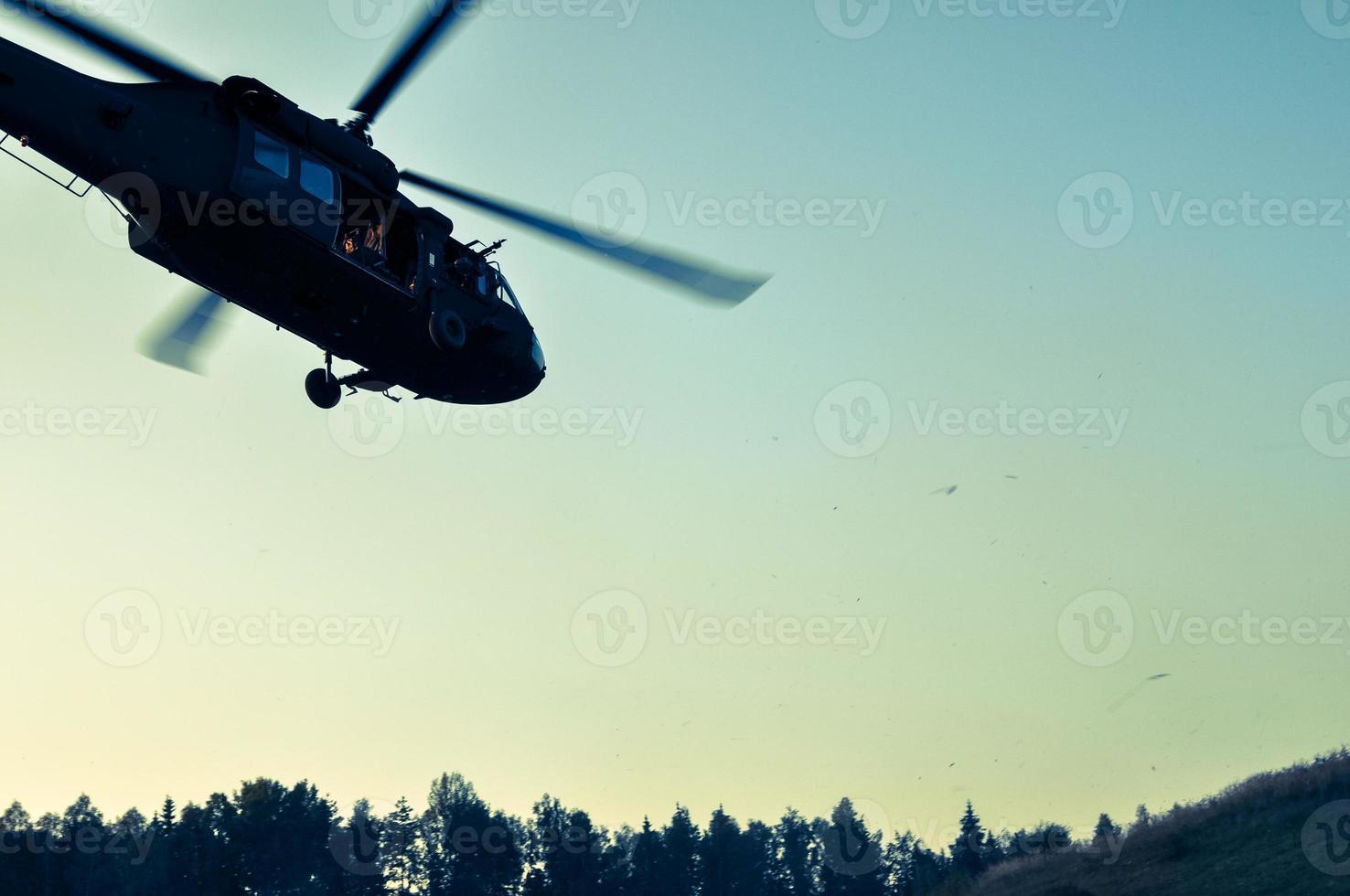 hélicoptère de l'armée photo