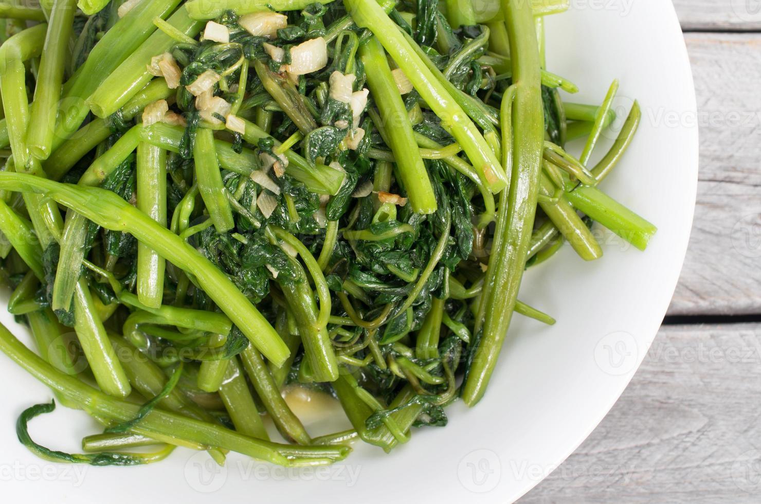 légumes vietnamiens sautés à la gloire du matin photo