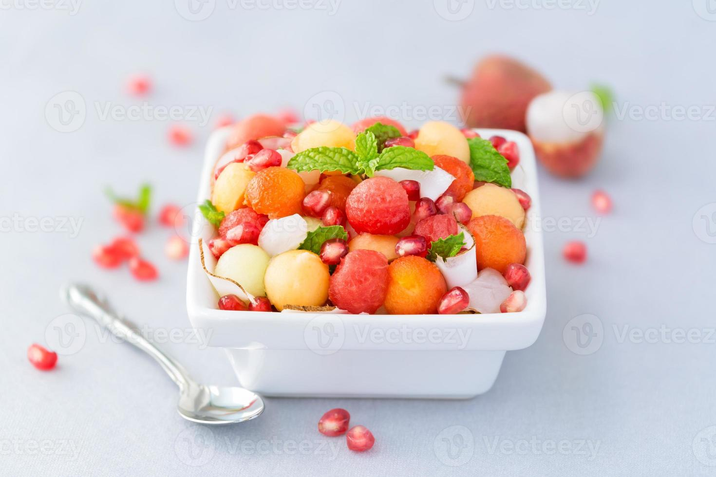 salade de fruits exotiques photo