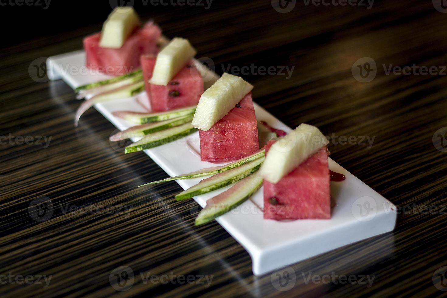 pastèque et melon photo