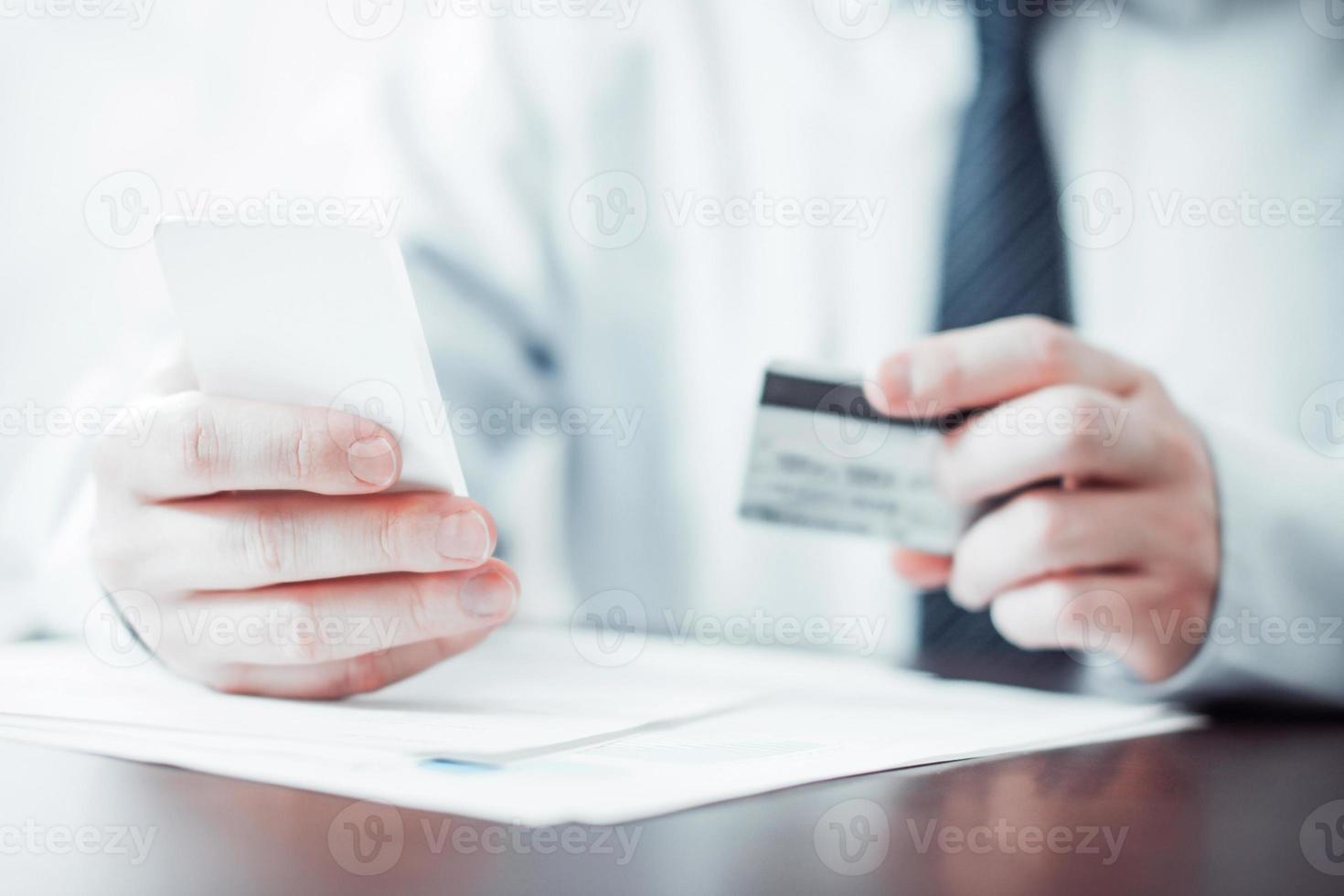 les services bancaires mobiles photo