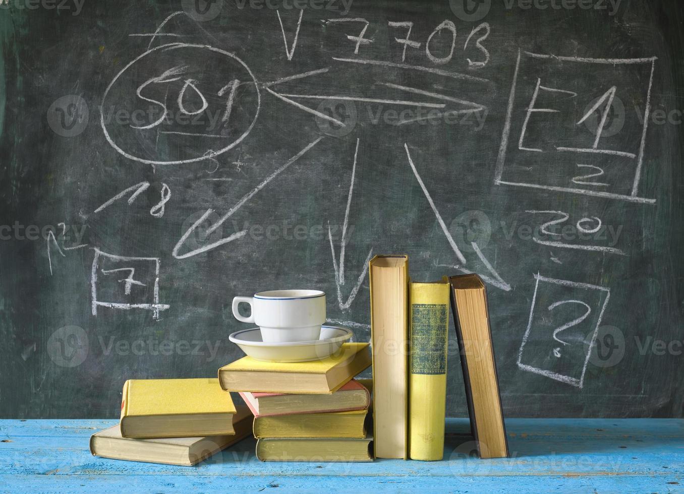 livres, éducation, apprentissage, science con photo