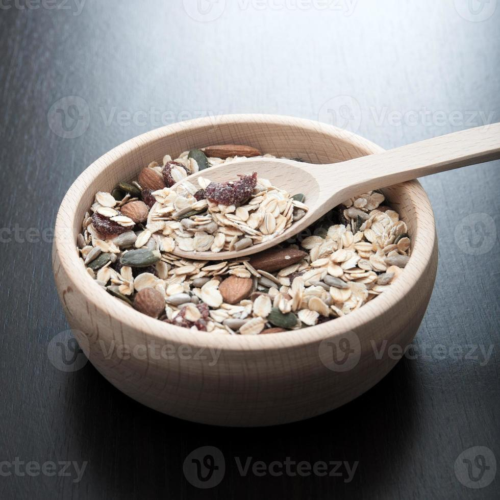 céréales délicieuses et saines photo