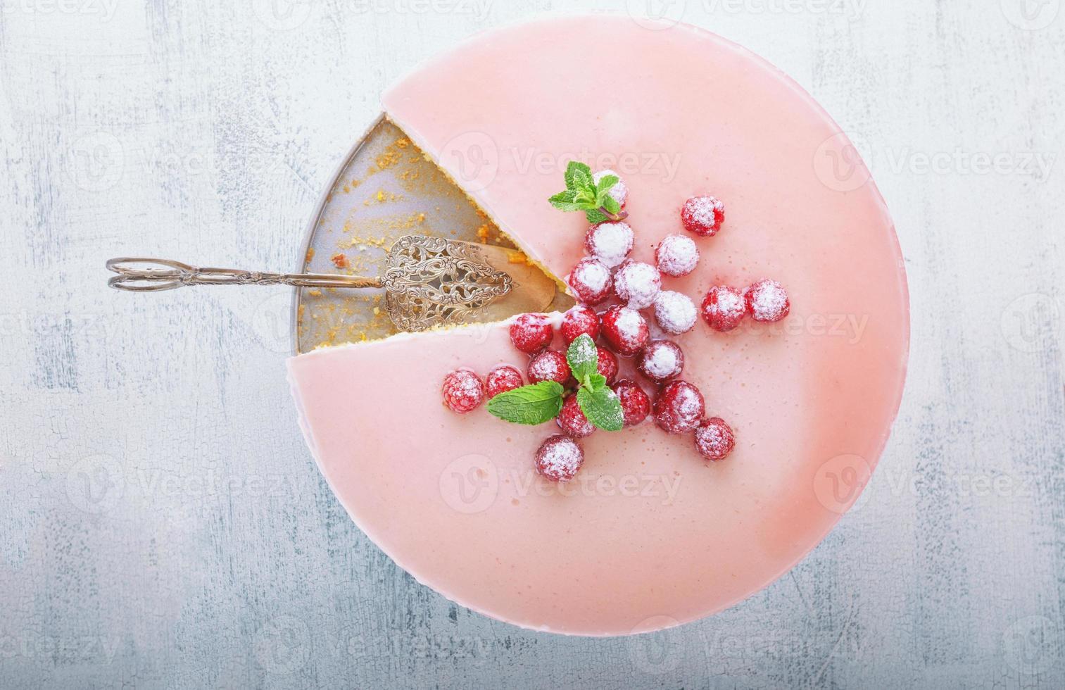 cheesecake au yaourt photo