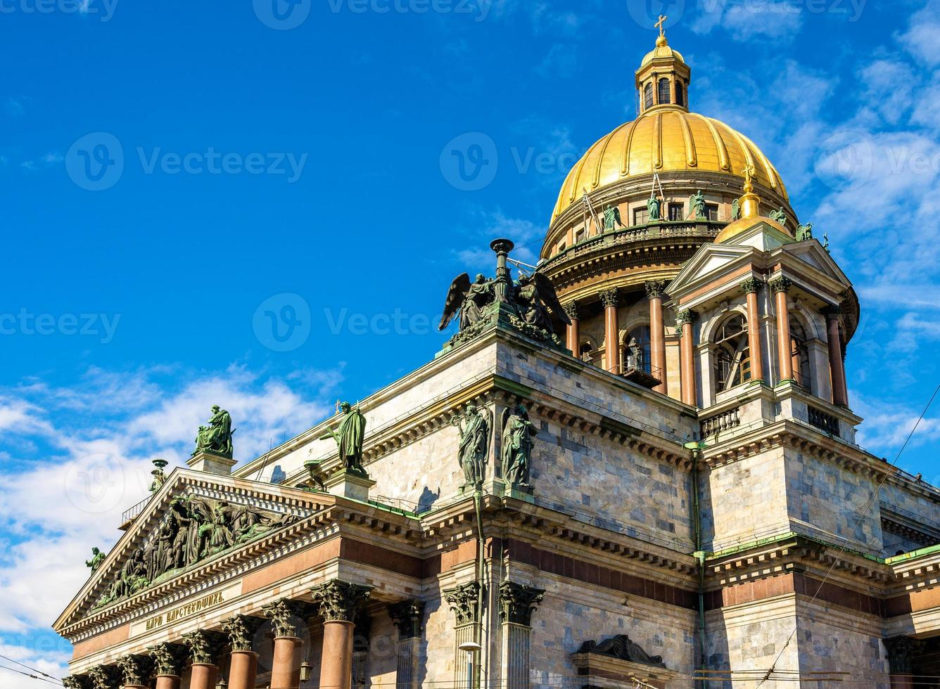 Cathédrale Saint-isaac de Saint-Pétersbourg - Russie photo