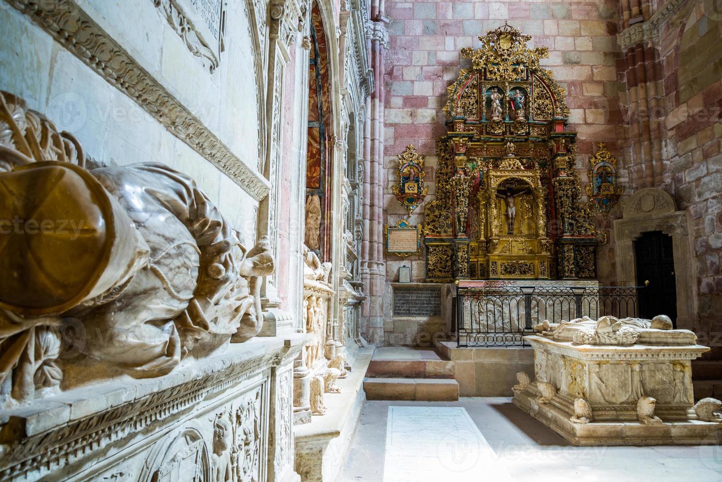 La cathédrale de Siguenza, Guadalajara, Espagne. photo