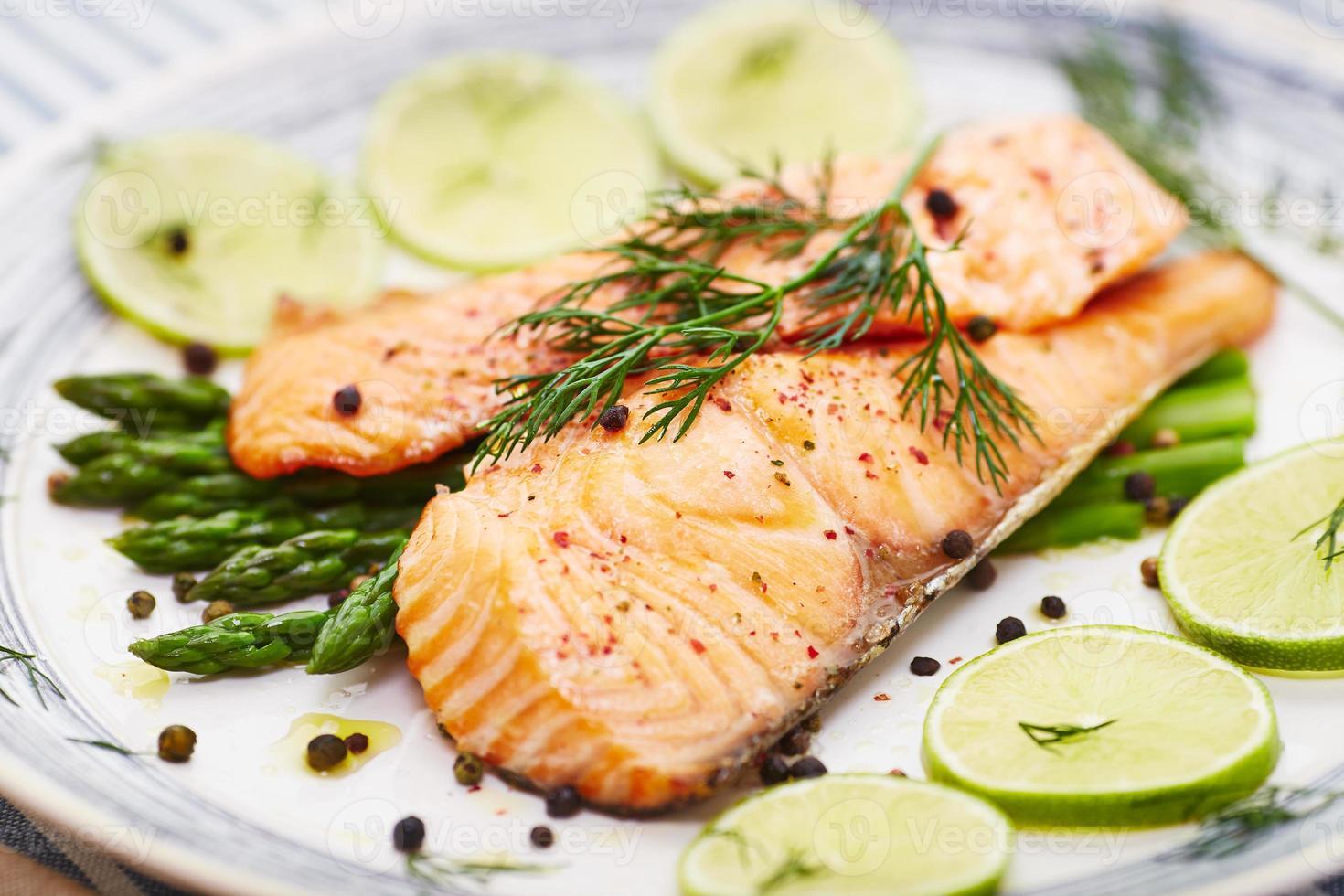 filet de saumon photo