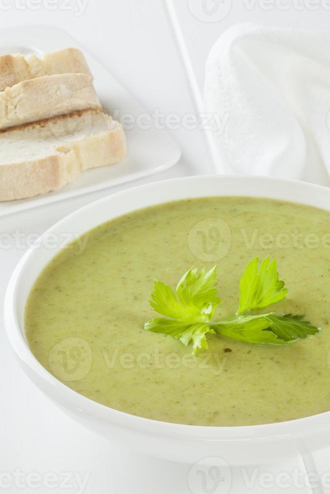soupe de céleri photo