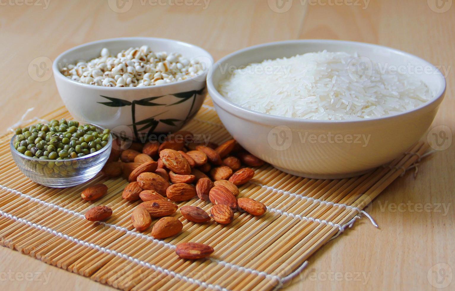différents types de grains photo