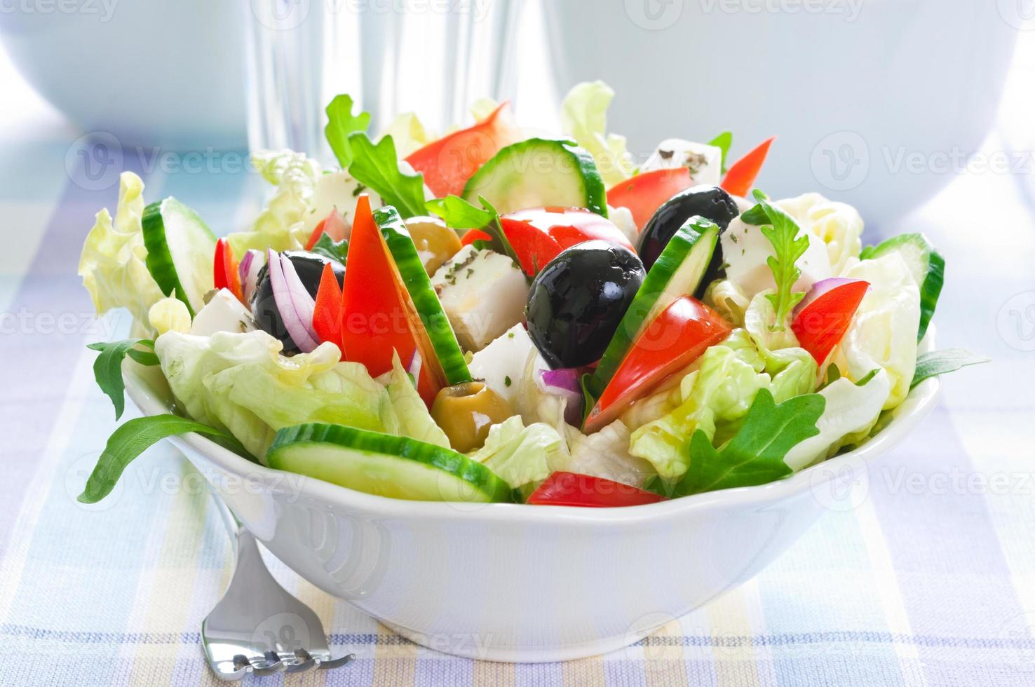 salade grecque photo