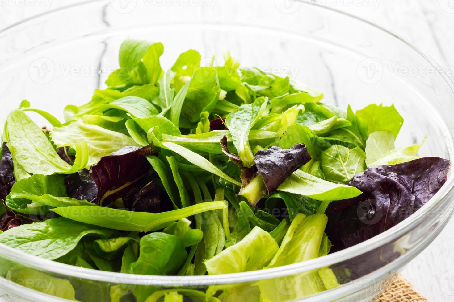 panier de salade photo