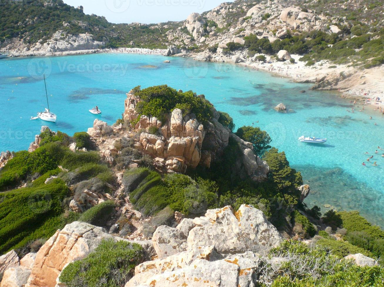 paysage cala corsara spargi photo