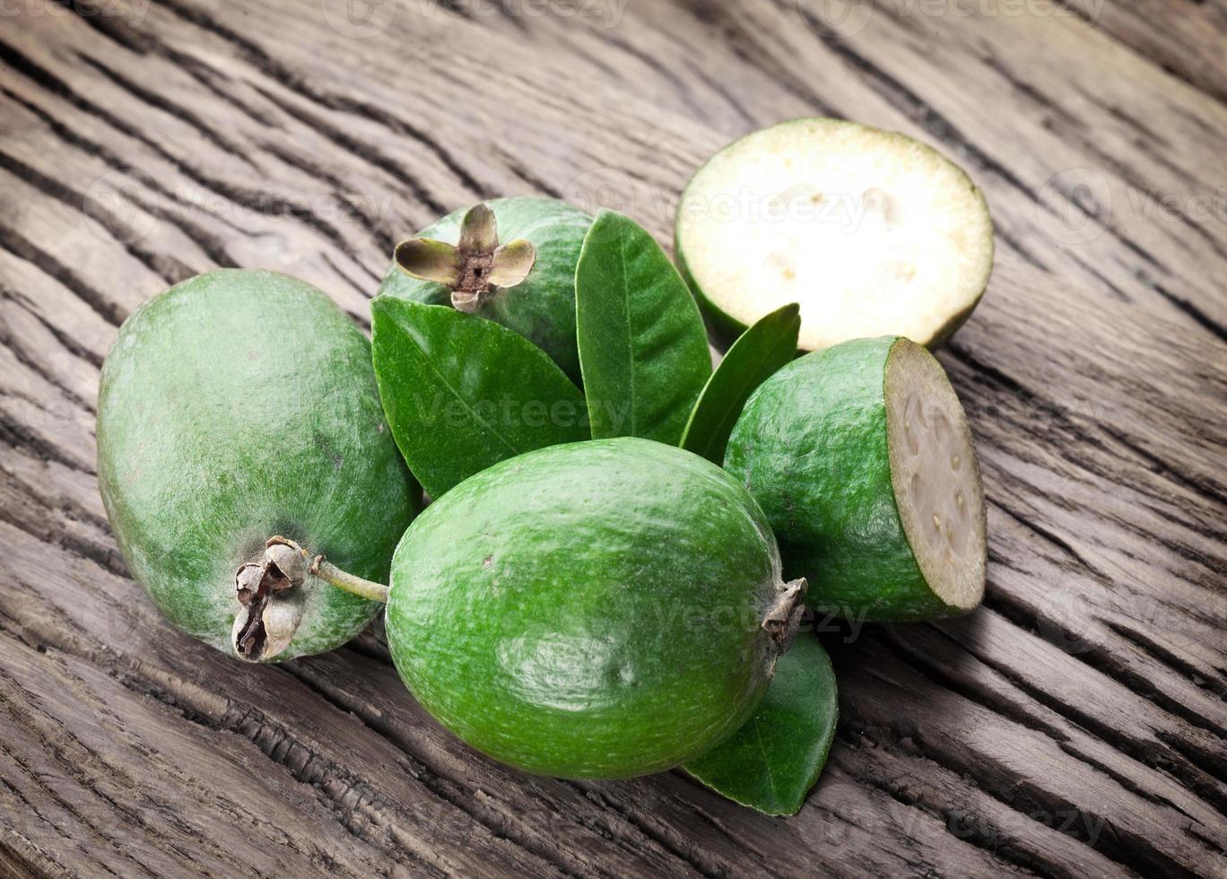 fruits feijoa. photo