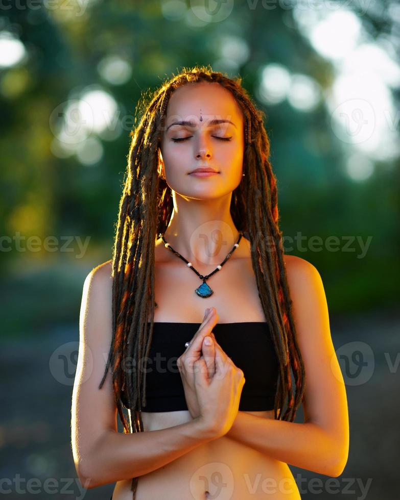 yoga (mudra) photo