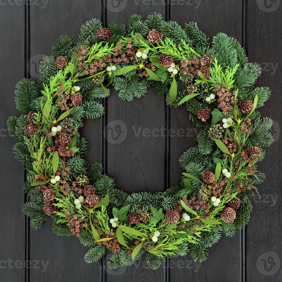 couronne d'hiver traditionnelle photo