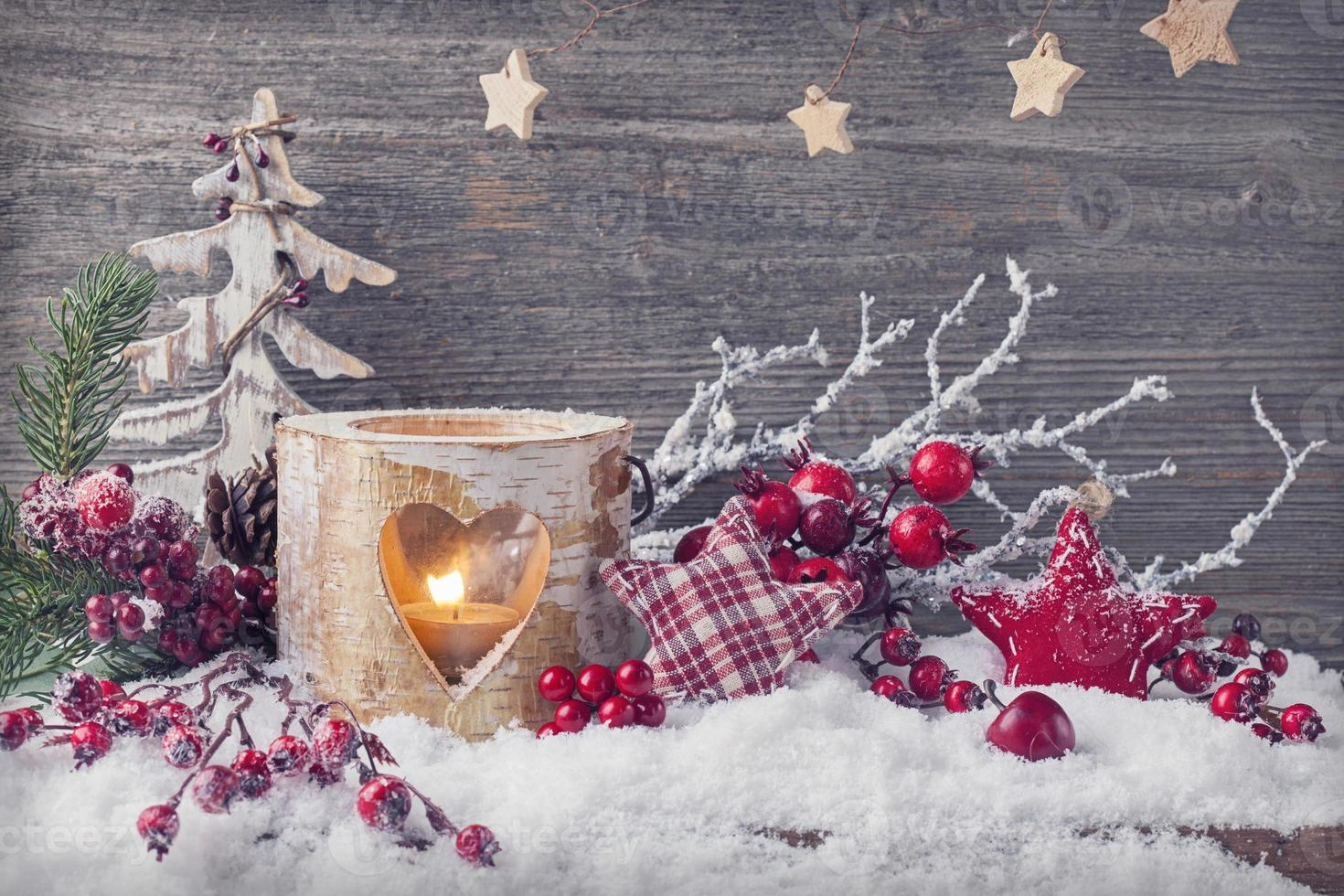 bougies d'hiver photo
