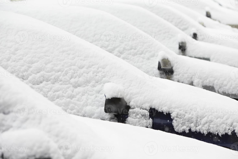 l'hiver dans la ville photo
