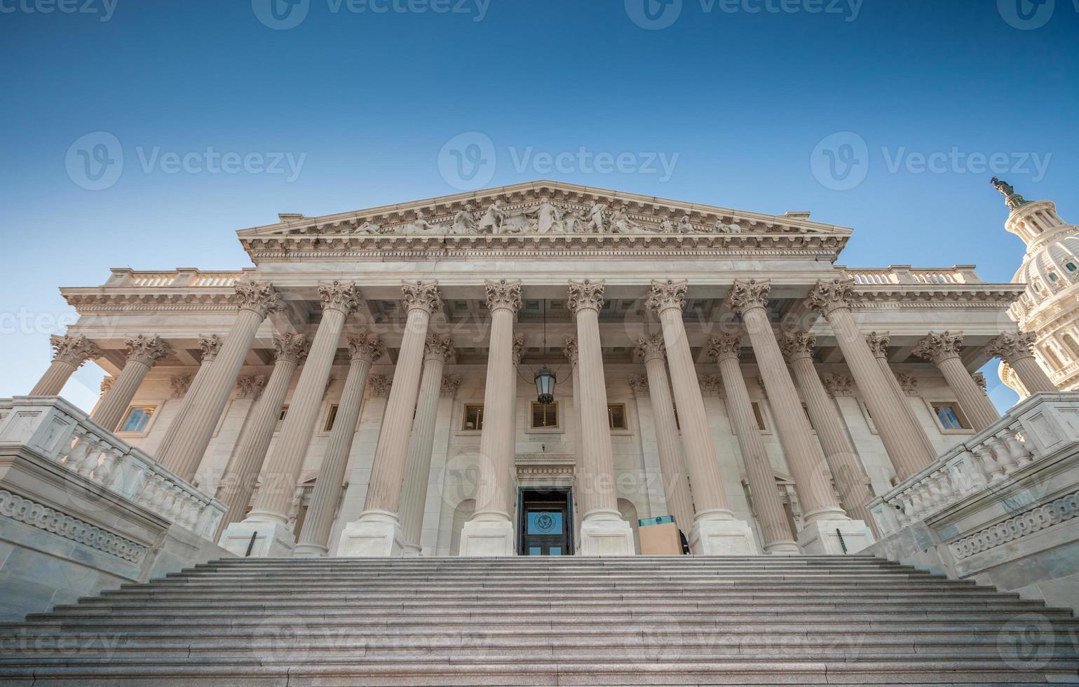 Chambre des représentants des États-Unis dans la capitale photo