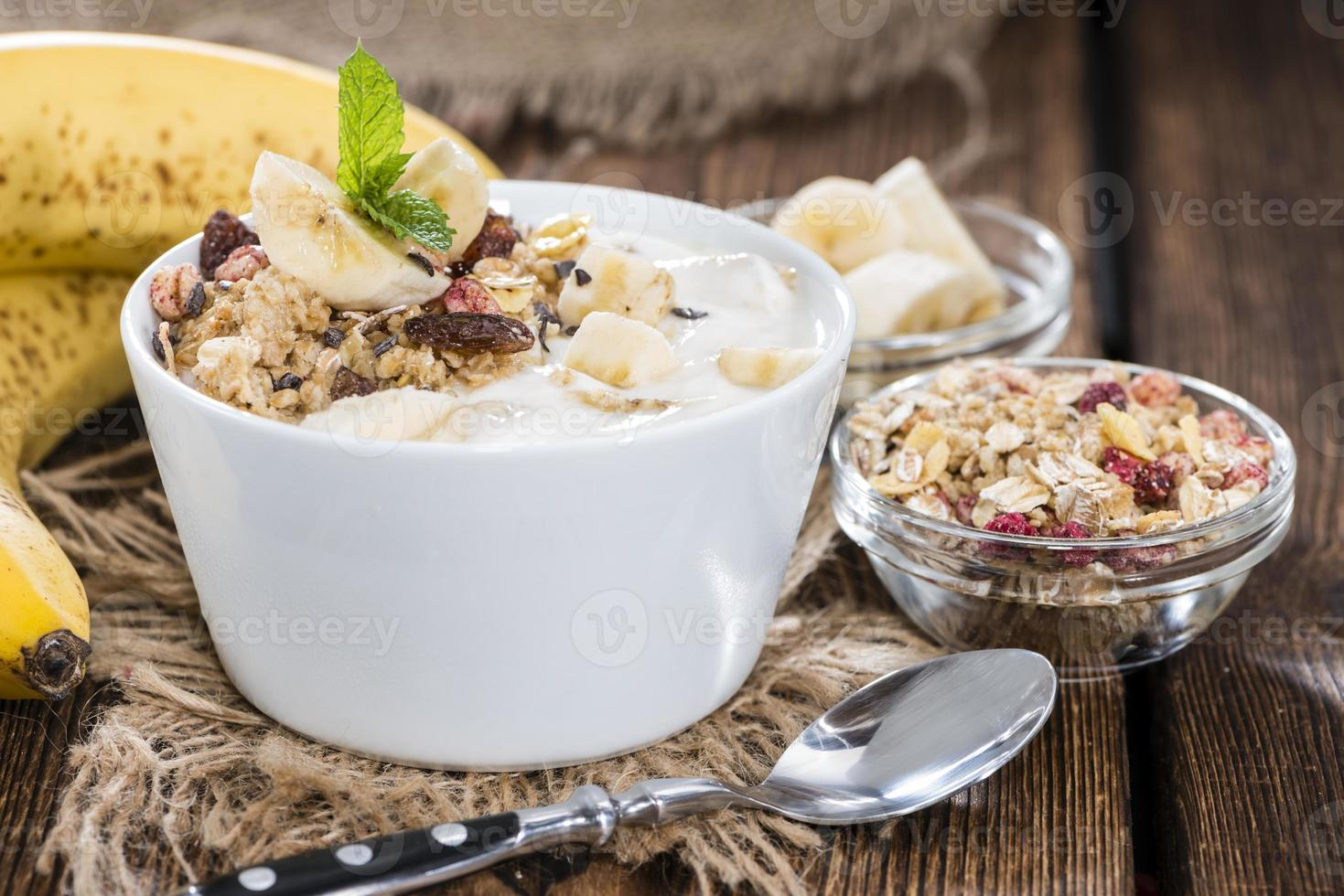 yaourt à la banane photo