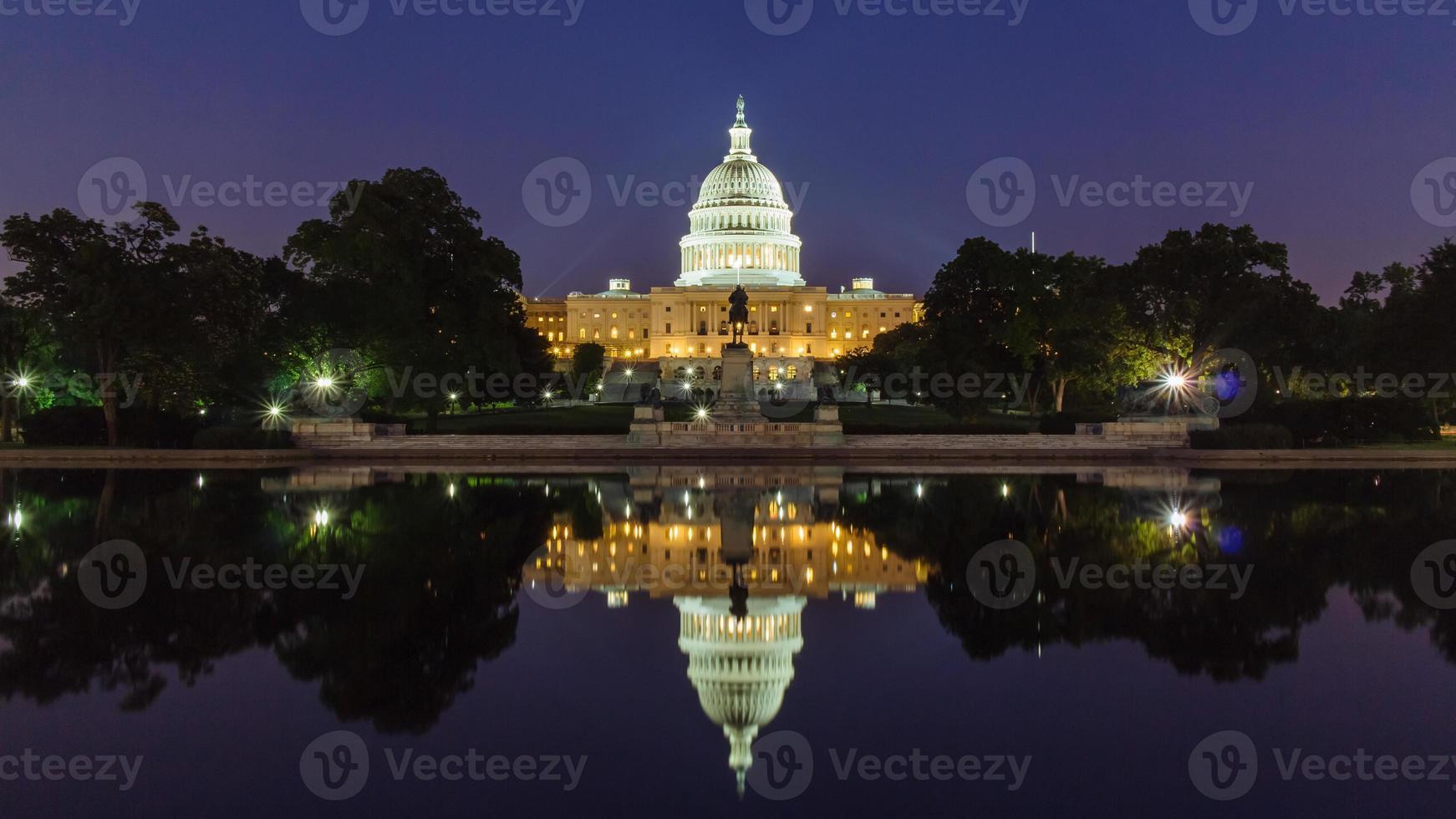 la capitale des états-unis. photo