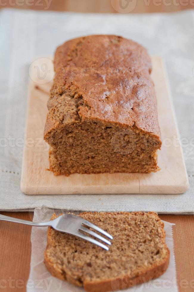 gâteau au café et aux noisettes photo