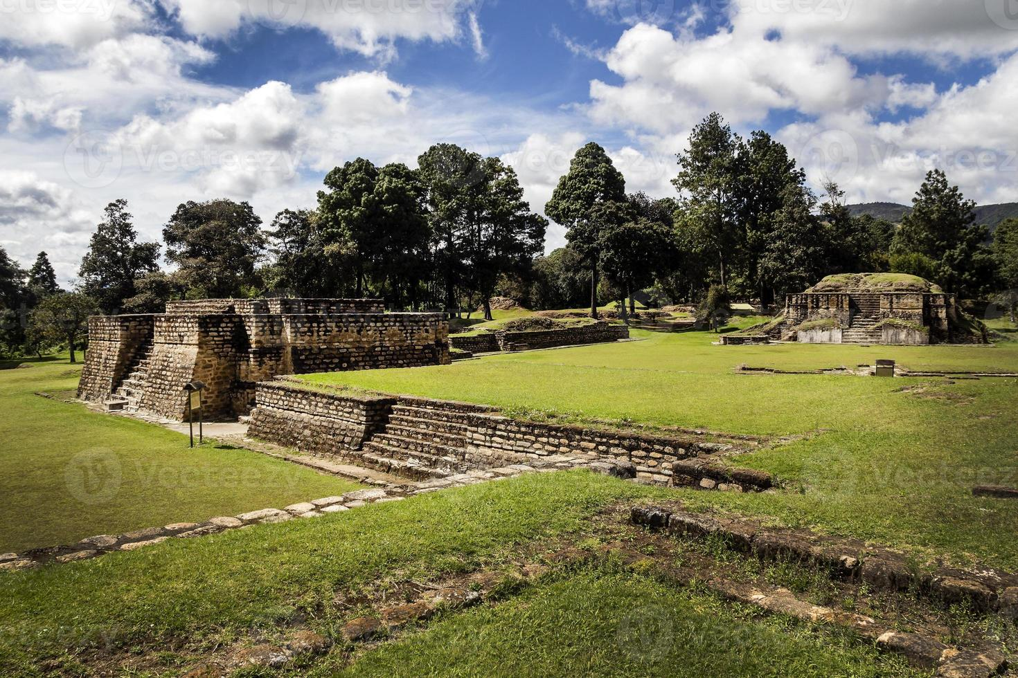 ruines d'iximche photo