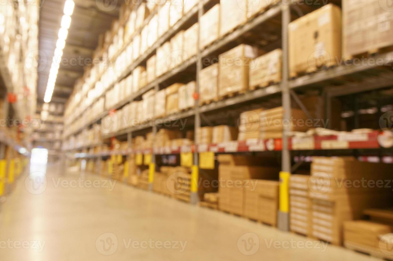 image défocalisée de l'entrepôt photo