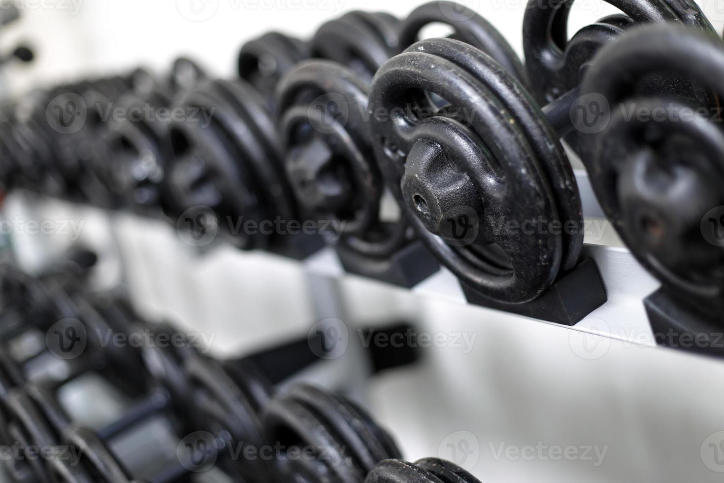 haltère poids gym photo