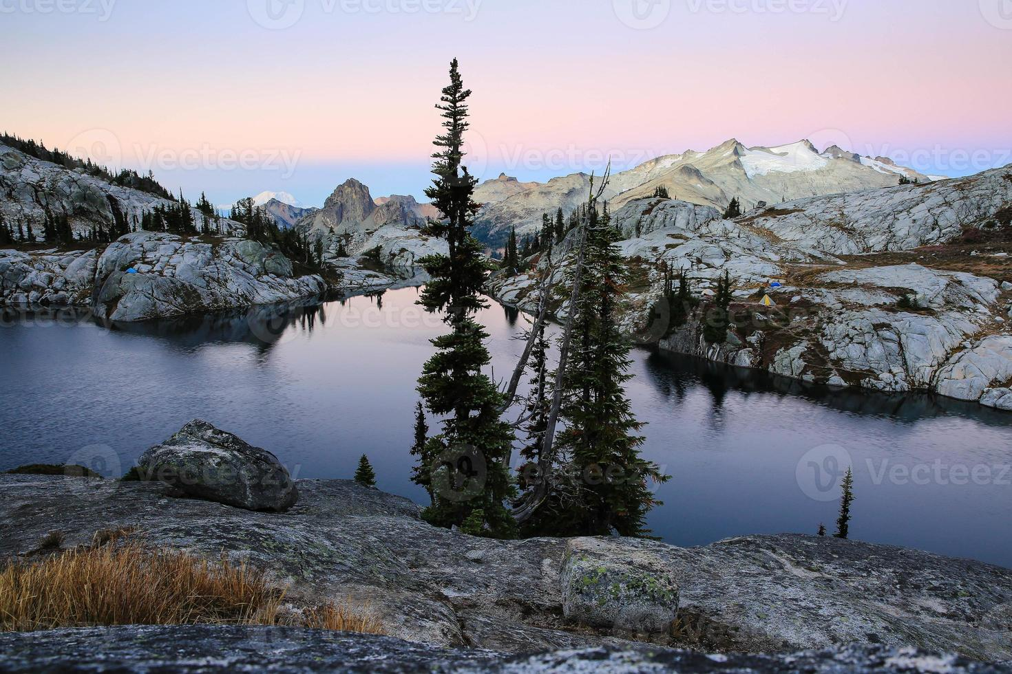 matin alpenglow photo