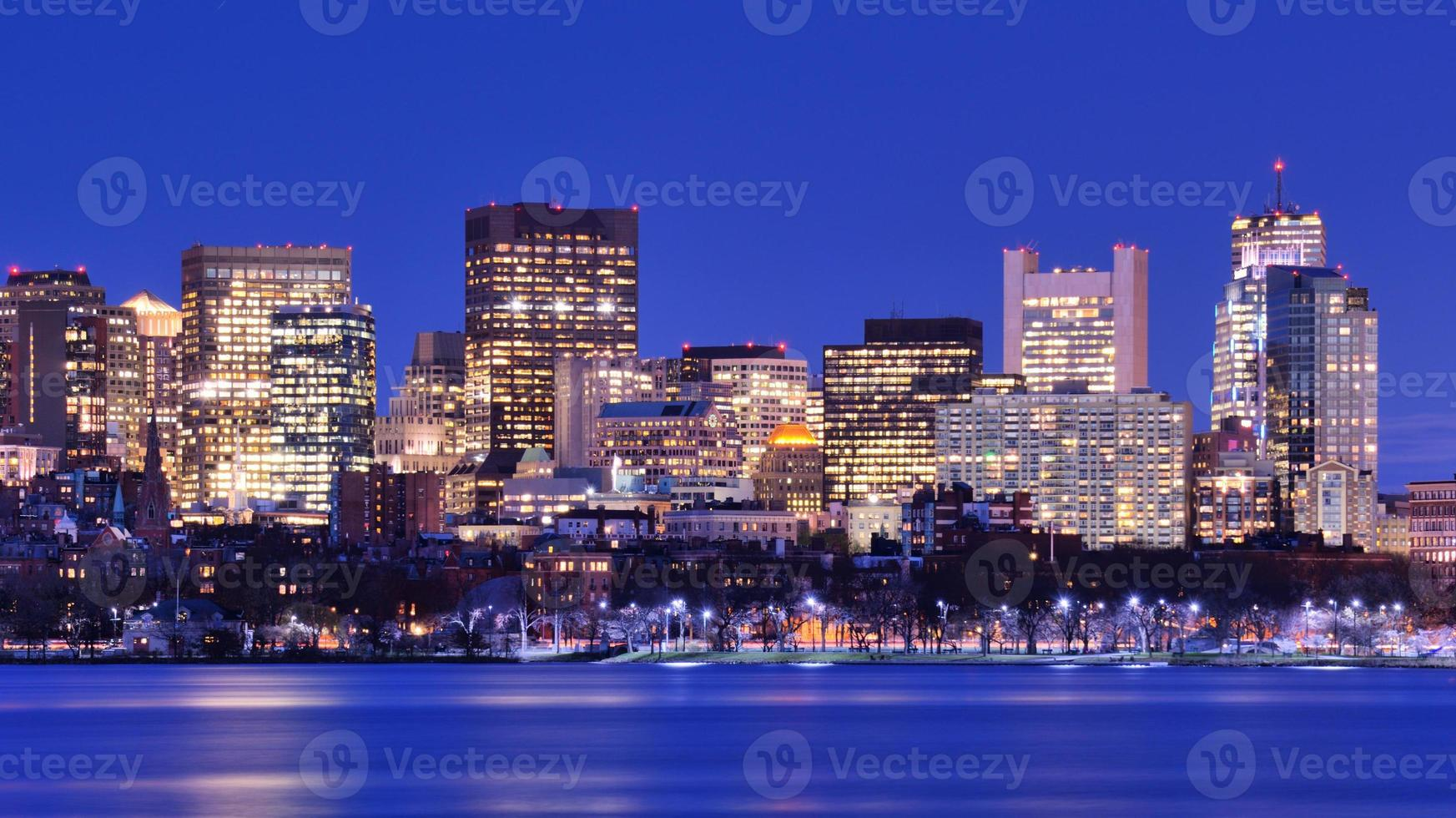 boston back bay photo