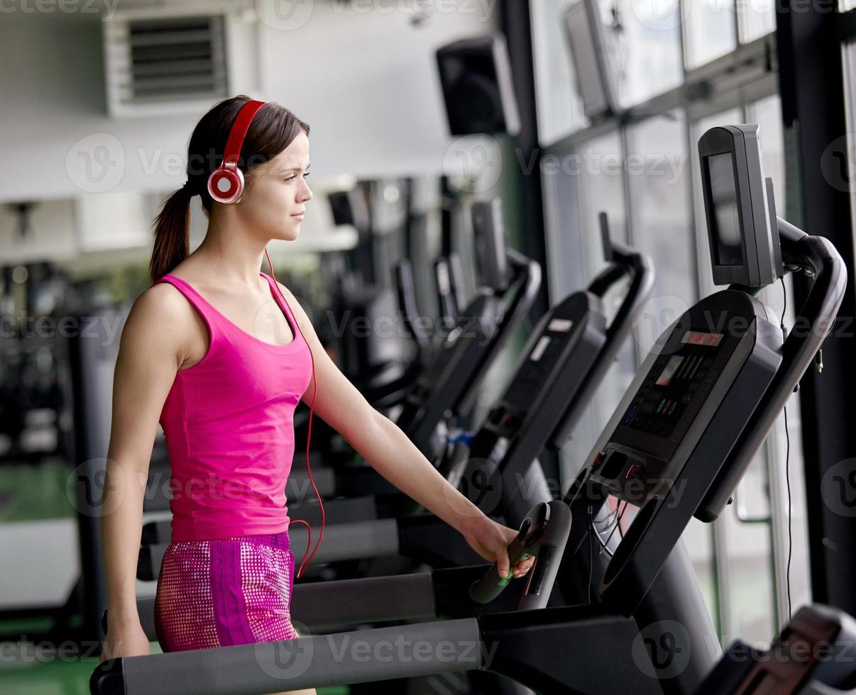 tapis roulant de fitness photo