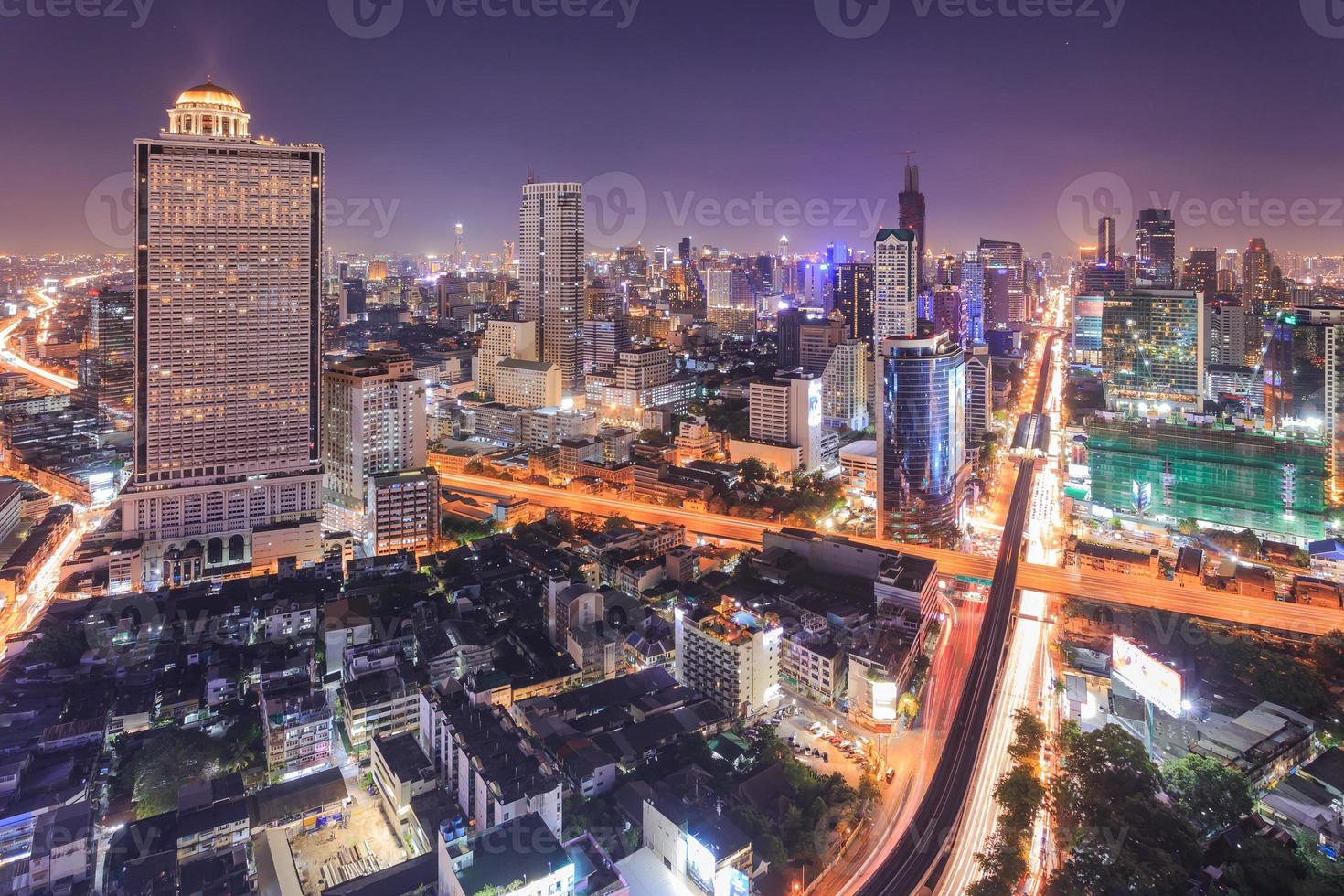 paysage urbain de bangkok photo
