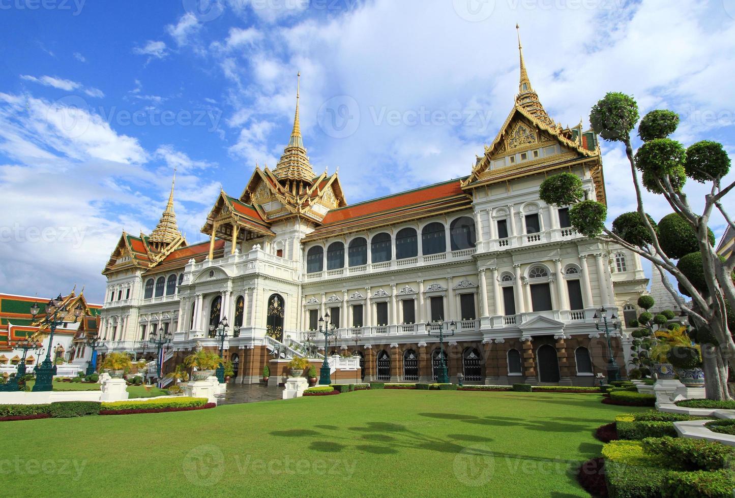grand palais à bangkok, thaïlande. photo