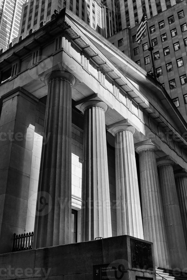 salle fédérale sur wall street photo