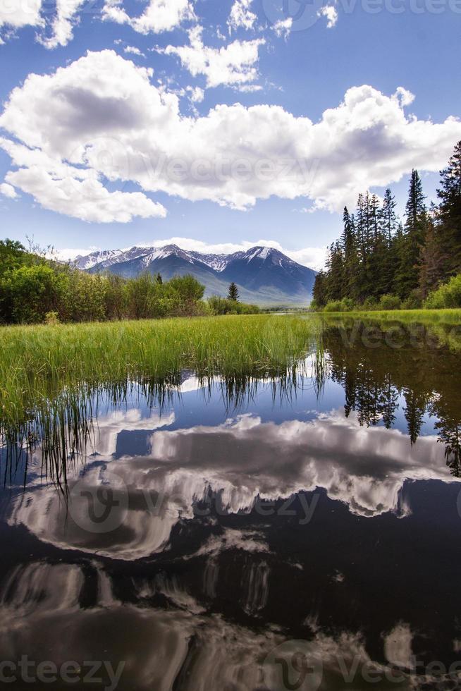 canoë sur les lacs photo