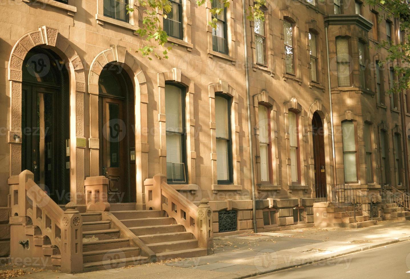 brownstones de Philadelphie photo
