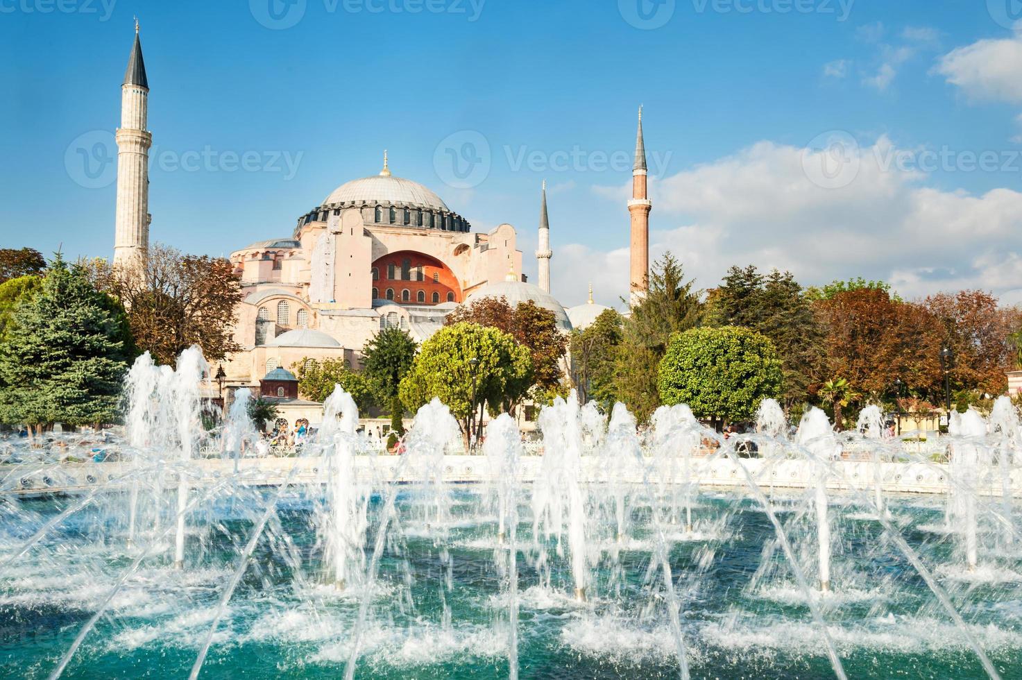 Mosquée hagia sophia à istanbul turquie photo