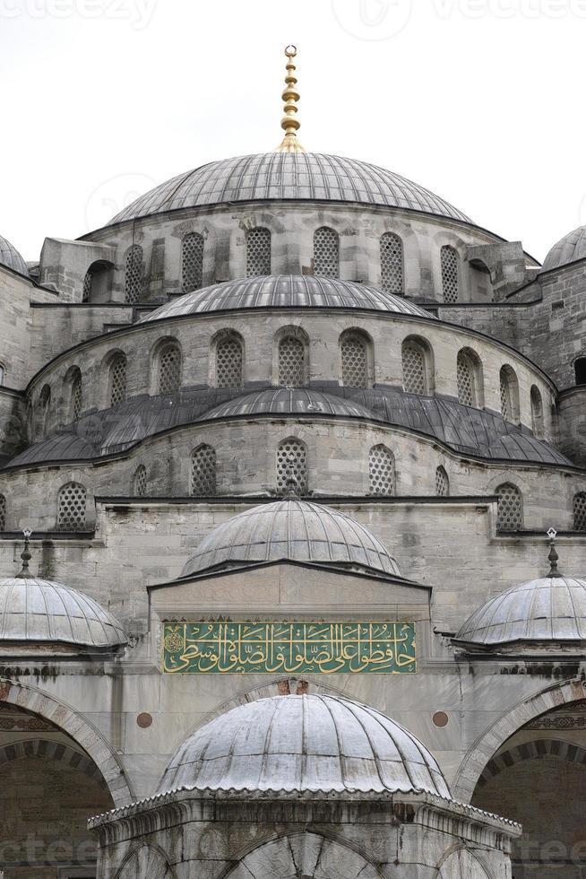 détail de la mosquée photo