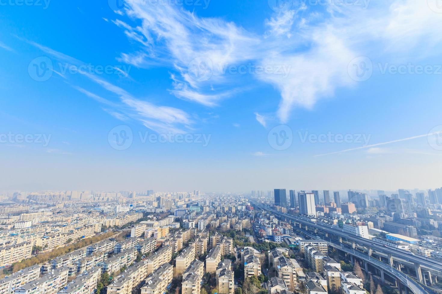 paysage des zones résidentielles urbaines de Hangzhou photo
