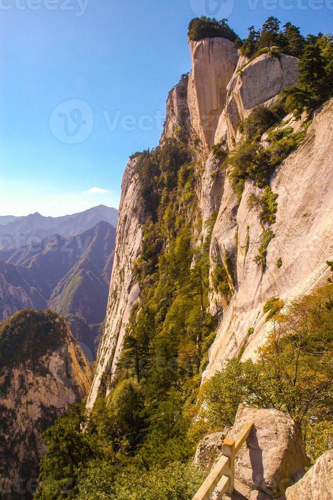 huashan (montagne huashan) - pic est photo