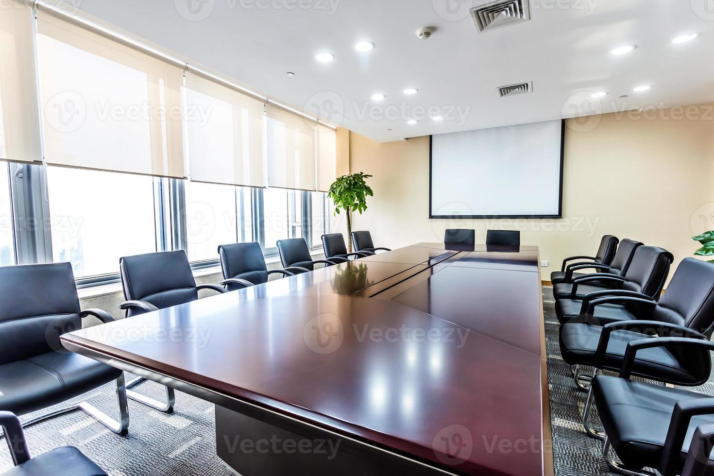 intérieur de la salle de réunion photo
