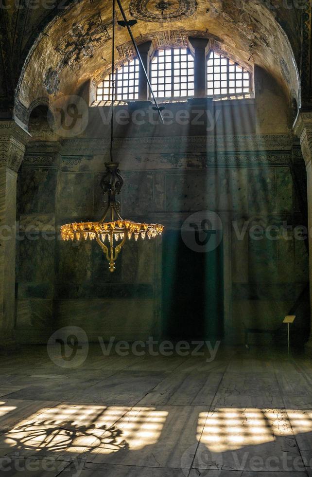 hagia sophia interior, istambul, turquie photo