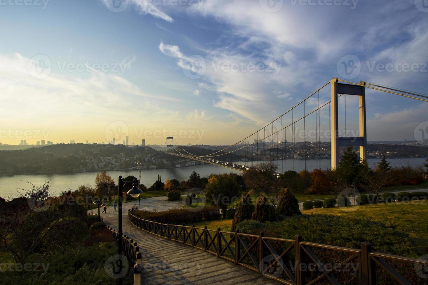Le pont du Bosphore photo