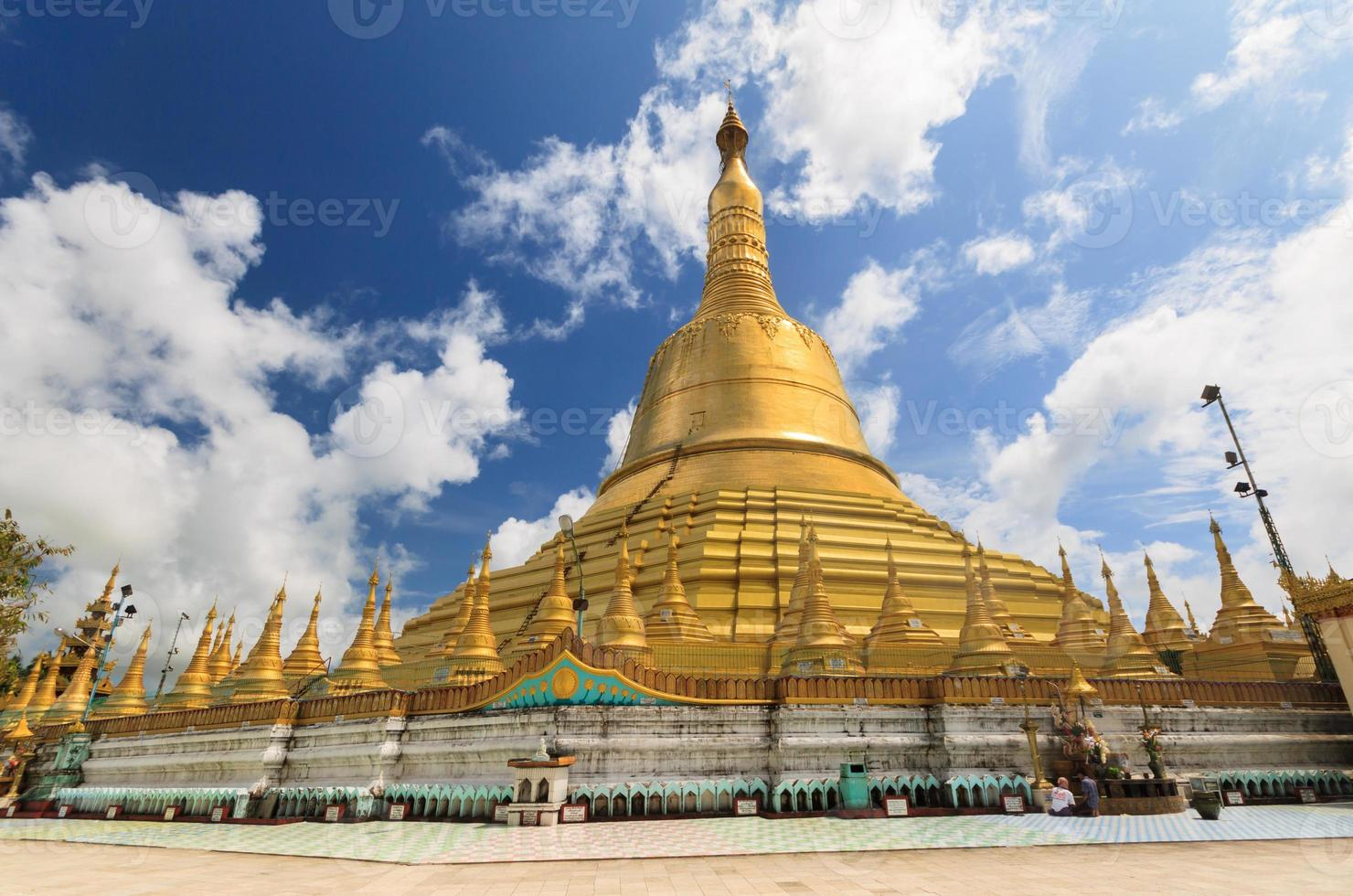 shwemawdaw padoda, myanmar photo
