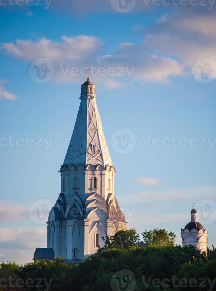 église de l'ascension à kolomenskoye, moscou photo
