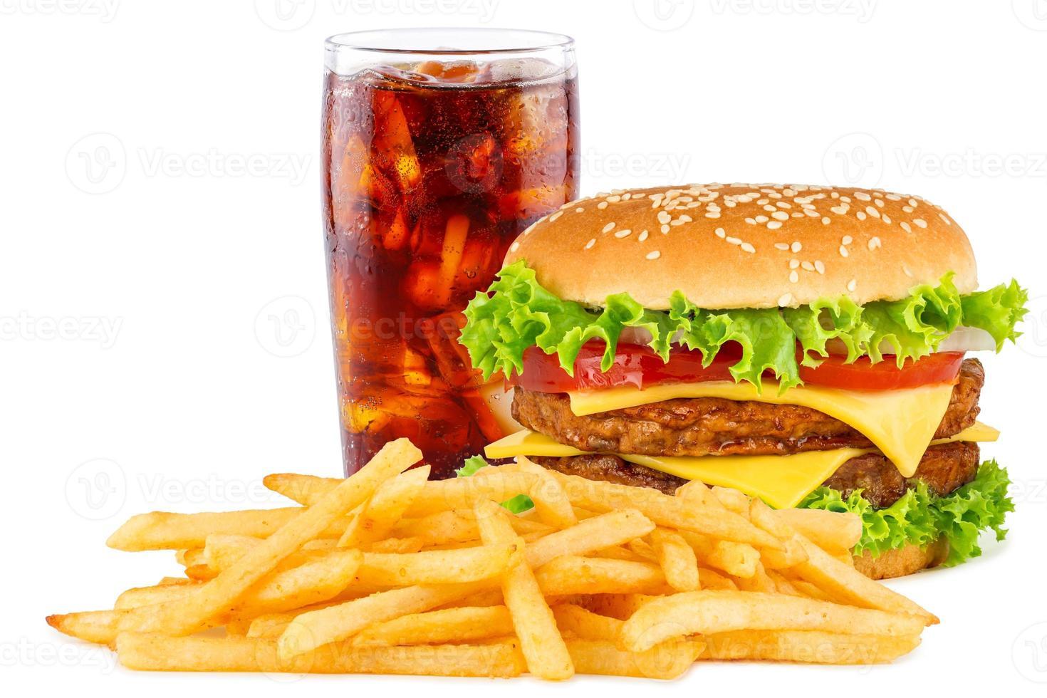 menu cheeseburger photo