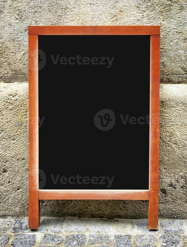 tableau de menu à l'ancienne photo